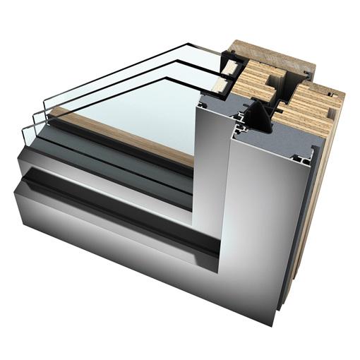 Internorm Home Pure - Finestre legno/alluminio