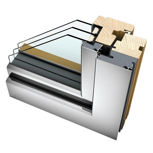 Internorm Home Soft - Finestre legno/alluminio