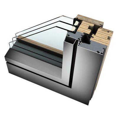 Internorm Studio - Finestre legno/alluminio