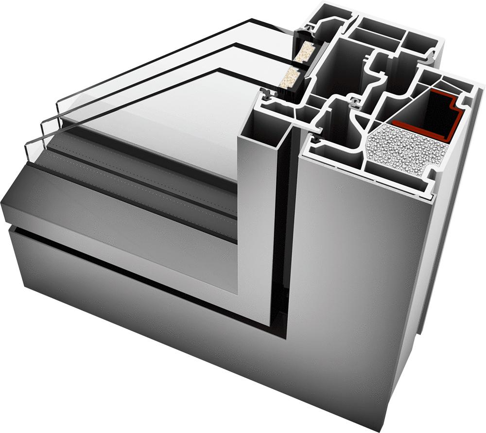 kf 410 valser serramenti. Black Bedroom Furniture Sets. Home Design Ideas